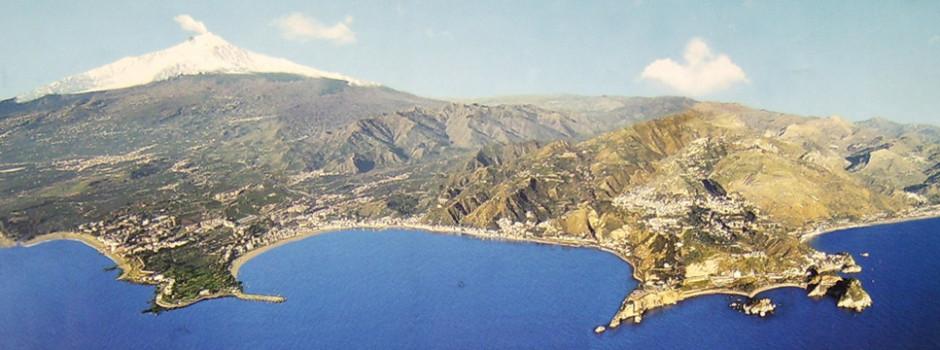 Panoramica Golfo di Giardini Naxos